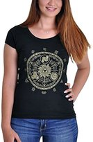 Nintendo Official Women's Legend of Zelda Game of Time Fitted T-Shirt