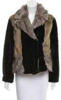 Rebecca Taylor Short Faux Fur Coat w/ Tags