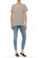 Bobi Grey Basic Tee
