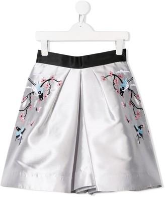 Raspberry Plum Tara skirt