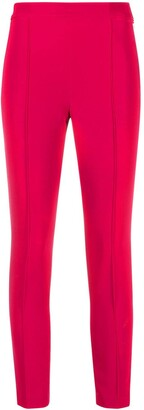 Twin-Set High-Waisted Cropped Leggings