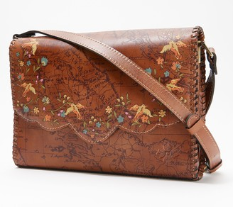 Patricia Nash Leather Sarola Crossbody