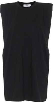 Frankie Shop Tina cotton jersey minidress