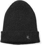 Ralph Lauren Ribbed Merino Wool Hat