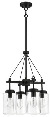Rojas Gracie Oaks 4-Light Outdoor Chandelier Gracie Oaks