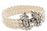 Ben-Amun Three Strand Pearl Deco Bracelet