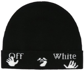 Off-White Logo Knitted Beanie