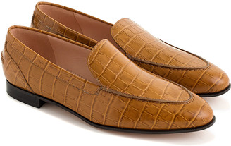 J.Crew No Tab Academy Leather Loafer