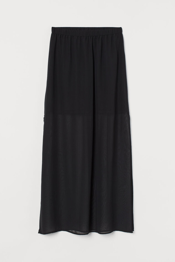 Thumbnail for your product : H&M Long chiffon skirt