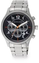 Saks Fifth Avenue Coin-Edge Stainless Steel Watch