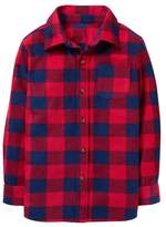 Crazy 8 Buffalo Check Microfleece Shirt Jacket