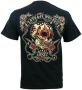 Lucky Brand Lucky 13 Dead Tattoo Men's Short Sleeve T Shirt - 2x Large
