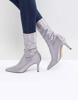 Asos Design ELVA Heeled Sock Boots