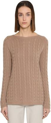 Max Mara 'S Intrecciato Cashmere Knit Sweater