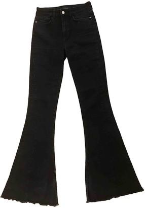 GUESS Black Cotton Jeans for Women