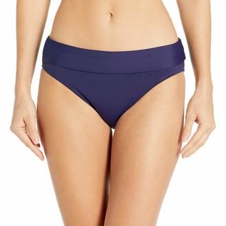 Bleu Rod Beattie Bleu | Rod Beattie Women's Cruise Control Solid Classic Midster Bikini Bottom