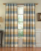 Hampton Silk Plaid Energy-Saving Window Collection, Set of 2