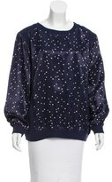 See by Chloe Light Bulb Print Scoop Neck Sweatshirt w/ Tags