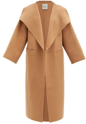 Totême Annecy Double-faced Wool-blend Coat - Camel