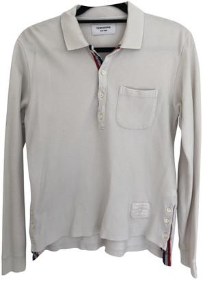 Thom Browne White Cotton Polo shirts