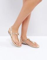 Oasis Knot Toepost Sandal