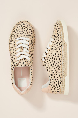 Dolce Vita Madox Leopard Espadrille Sneakers By in Assorted Size 7 W