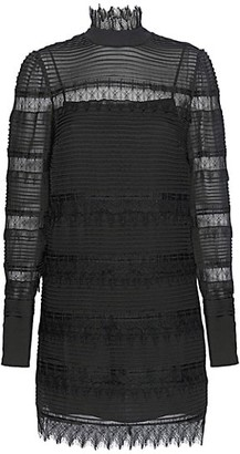 Frame Nora Lace Shift Dress