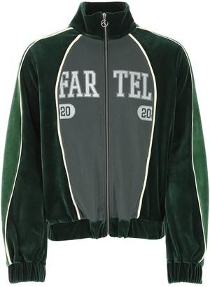 Telfar Colour Block Zipped Sweatshirt