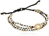 """Tai Multi-Strand Pearl Cuff Bracelet, 3"""""""