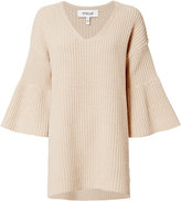 Derek Lam 10 Crosby V Neck Knit Tunic