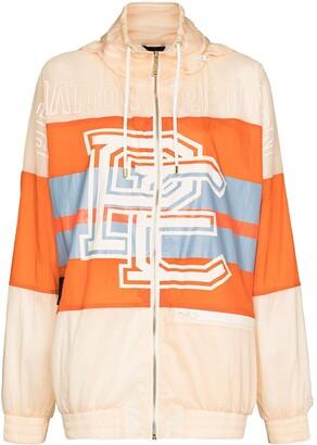 P.E Nation Score Runner hooded jacket