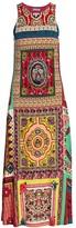 Etro Mosaic Tile-Print Jersey Midi Dress
