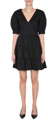 MICHAEL Michael Kors Puff Sleeve Mini Dress