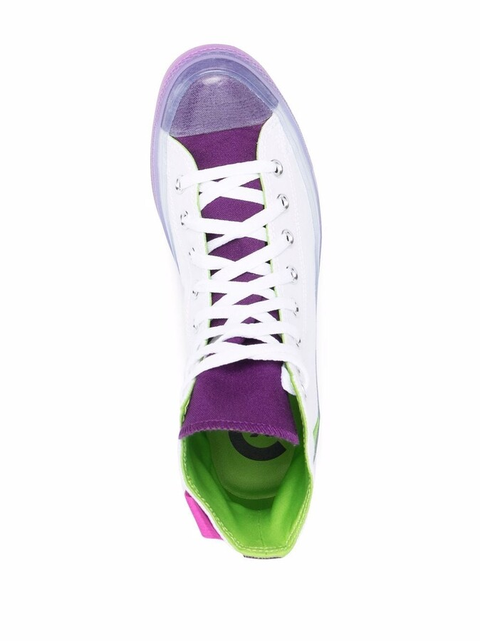 Thumbnail for your product : Converse Dramatic Nights CX high-top sneakers