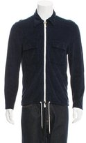 Tom Ford Terry Cloth Zip Sweater