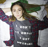 Art Disco 'Get Awesome' Slogan Unisex T Shirt