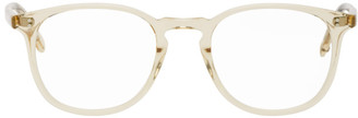 Garrett Leight Yellow Kinney Glasses