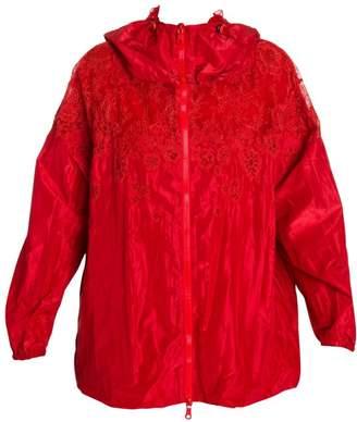 Valentino Lace Nylon Jacket