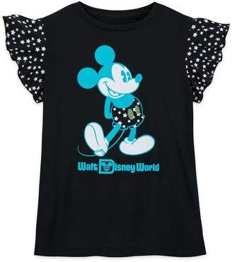 Disney Mickey Mouse Wing Sleeve T-Shirt for Girls Walt World