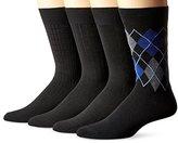 Van Heusen Men's 3+1 Bonus Pack Pin Dot Dress Socks