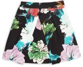 Milly Minis Girl's Floral-Print Pleated Skirt