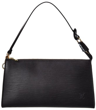 Louis Vuitton Black Epi Leather Pochette 21 Accessoires