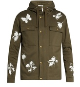 Valentino Mariposa cotton hooded jacket