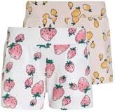 Name It NITVIGGADI 2 PACK Shorts bright white/pink dogwood