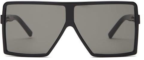 0dd1ee864416 Square-frame Acetate Sunglasses - ShopStyle