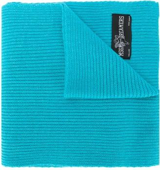 MSGM Ribbed Knit Scarf