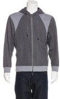 Robert Graham Two-Tone Knit Hoodie