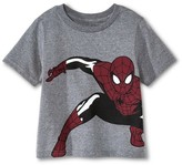 Spiderman Toddler Boys' Tee - Grey