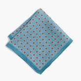 J.Crew Linen pocket square in foulard