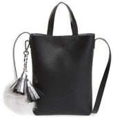 Street Level Bp. Mini Pouch Faux Leather Crossbody Bag - Black